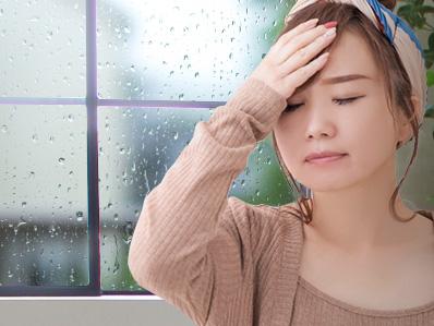 梅雨と片頭痛